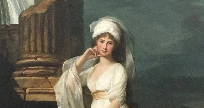 Portrait of Lady Huntingtower