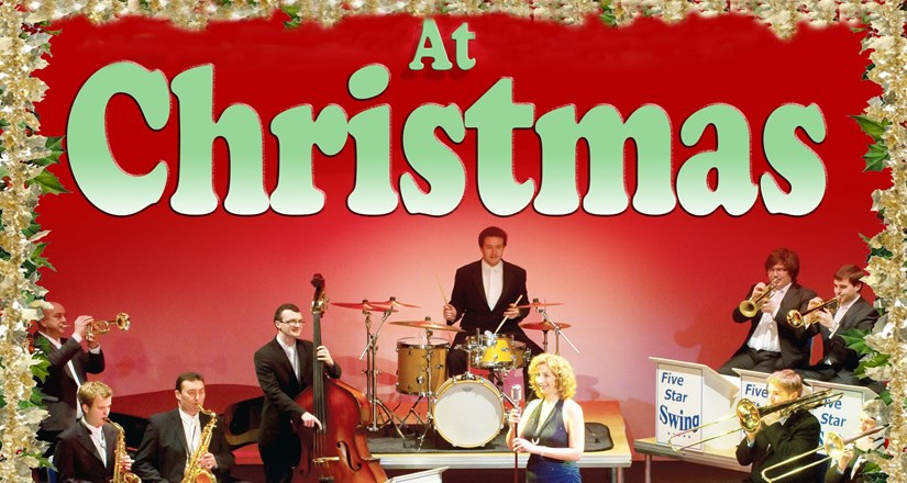the big band at christmas with five star swing - Big Band Christmas