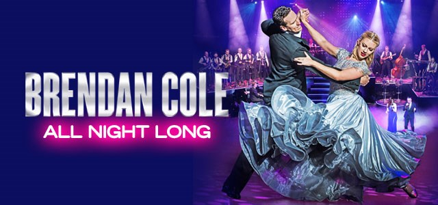 Brendan Cole announced at Meres Live!