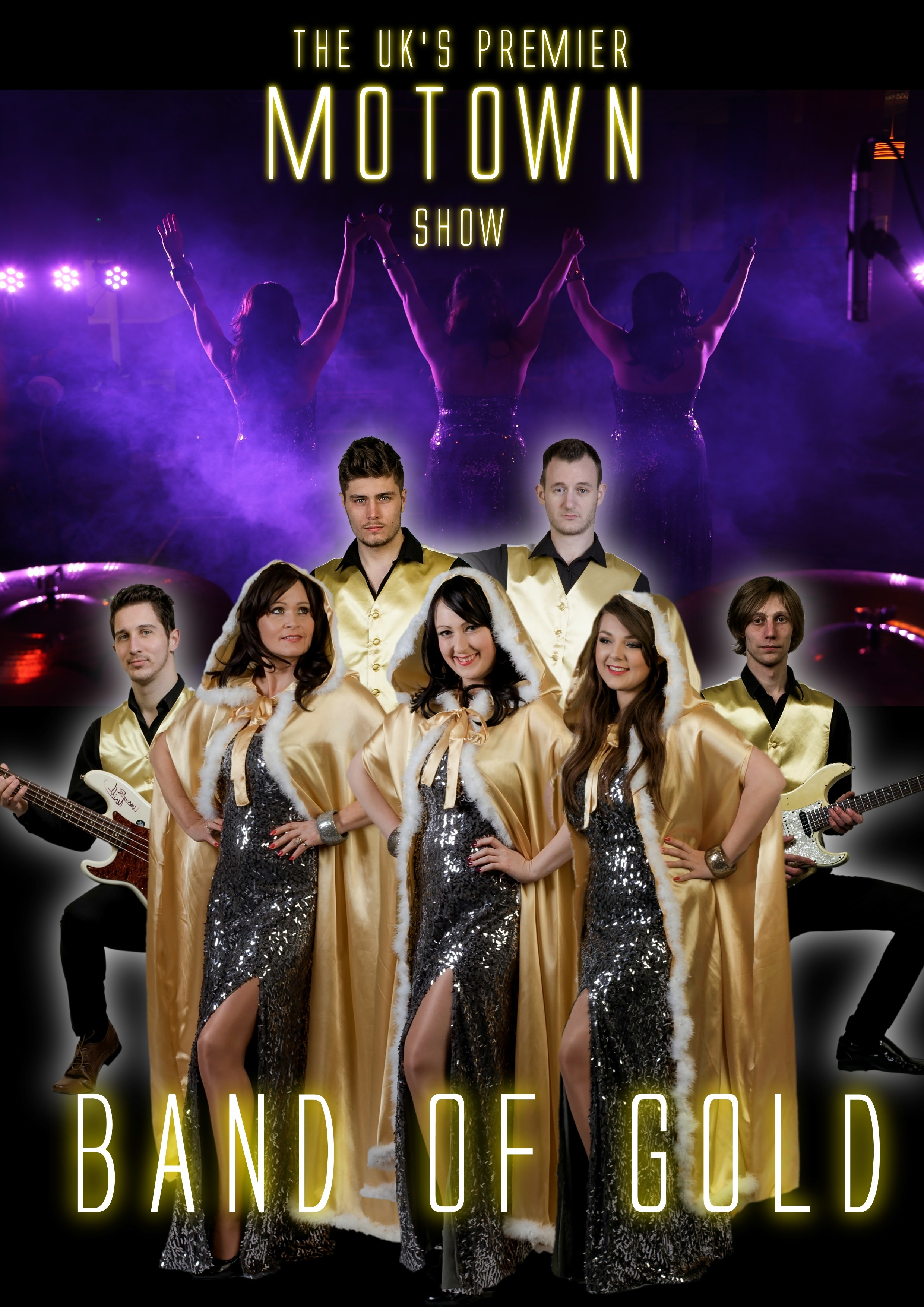 Band Of Gold – The UK's Premier Motown Show! BCE