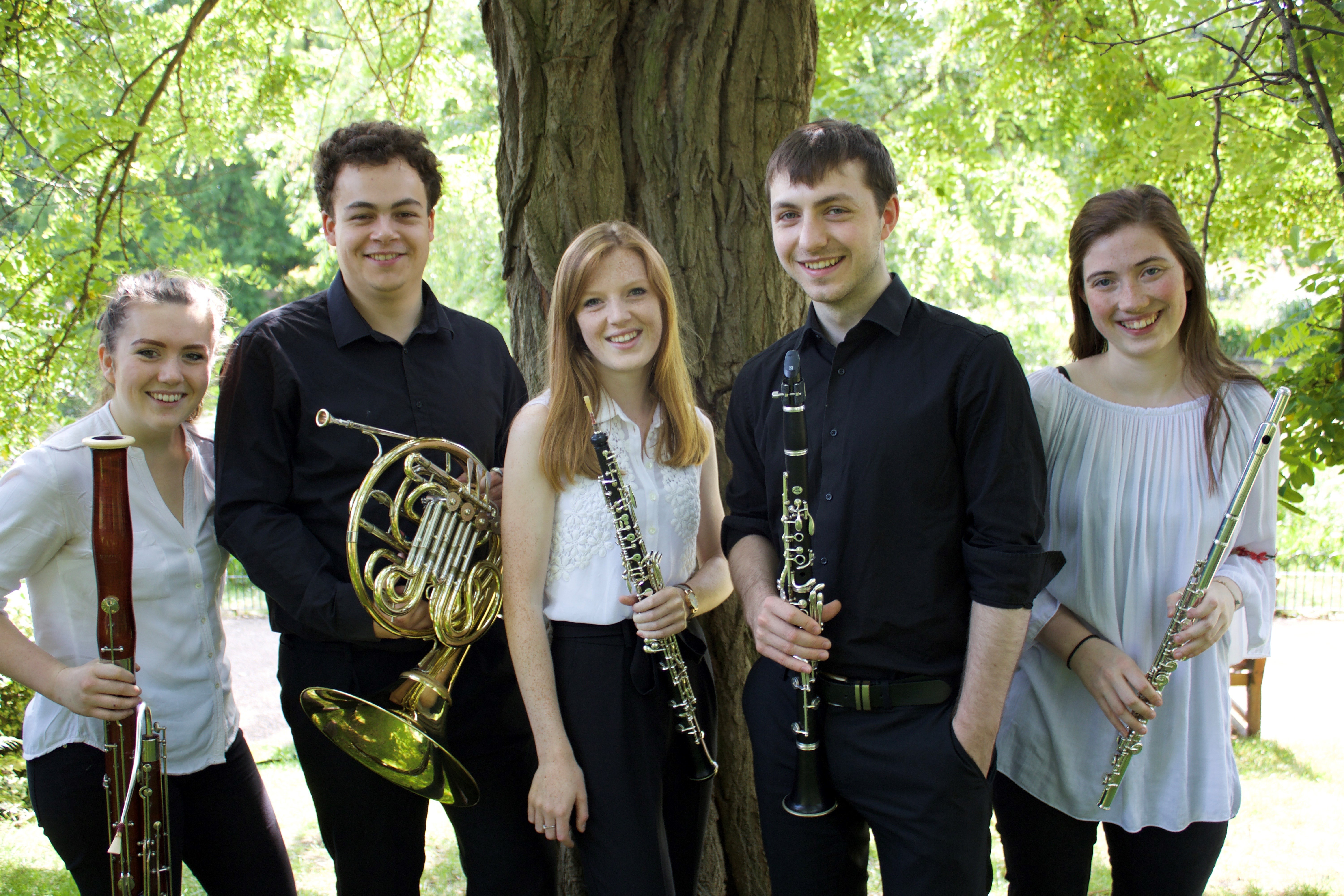 Summer Winds Quintet Concert