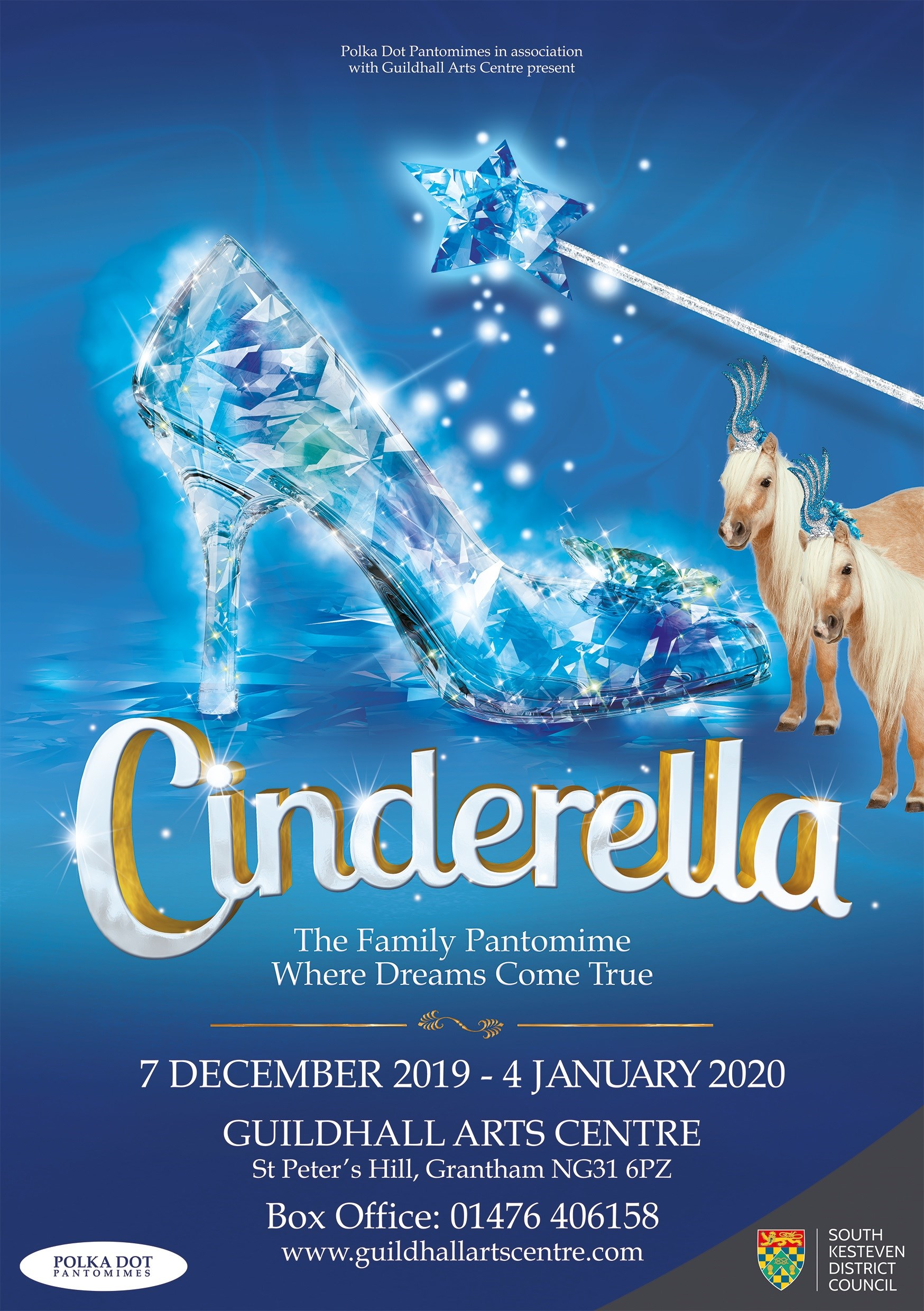 Cinderella - Guildhall Arts Centre Pantomime