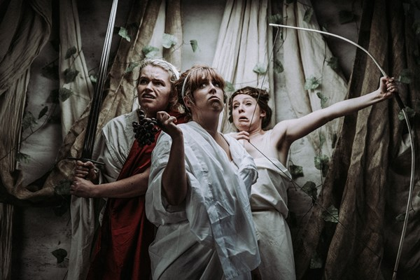 WOMANS (like Romans but with a 'W') - Scratchworks Theatre Co
