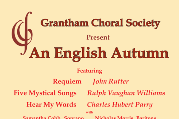 An English Autumn - Grantham Choral Society