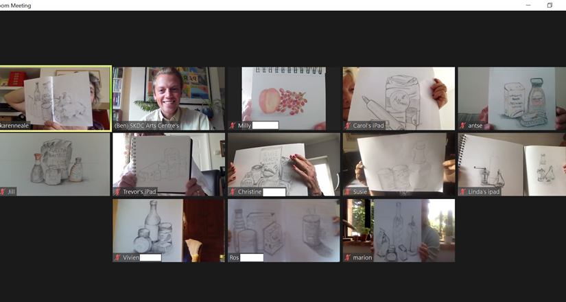 Online Sketching Classes with Karen Neale